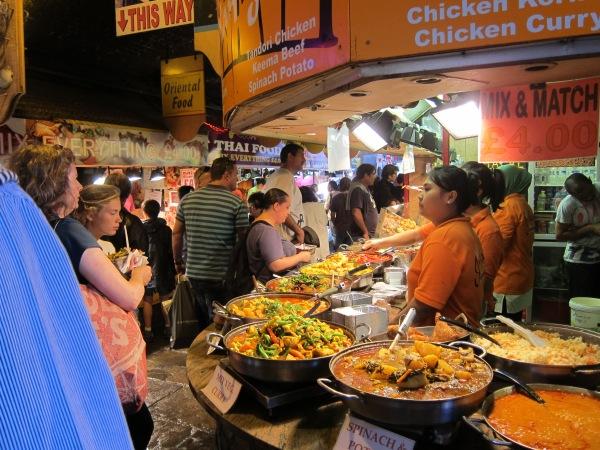 Food Stalls at Camden Market