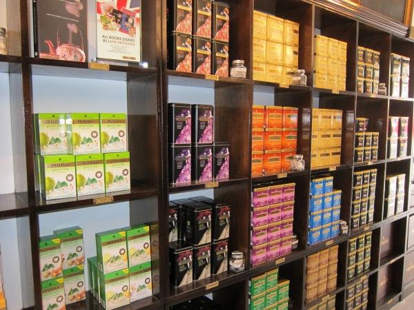 Tea on Shelves