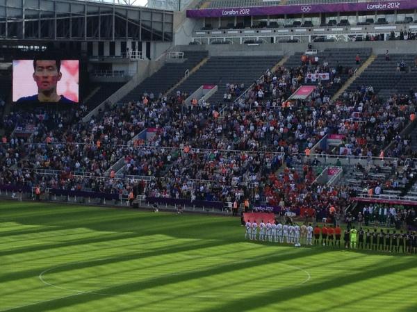 St. James Park Football Stadium