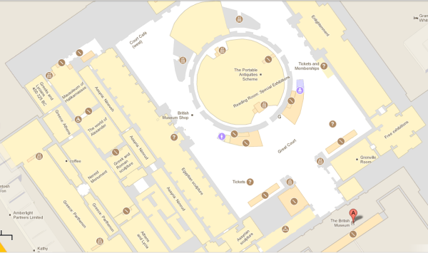 The British Museum Floor Plan