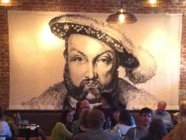 Henry VIII at Wicked Weed Brewing