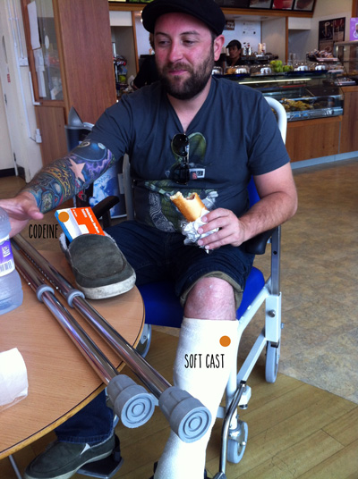 Brandon at Hospital