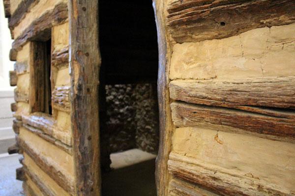 A peek inside the Lincoln cabin