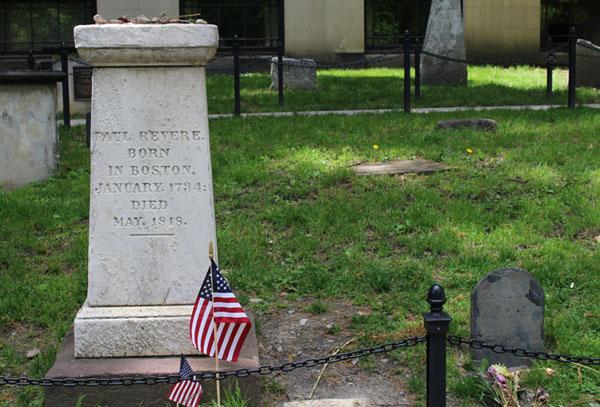 Paul Revere Grave