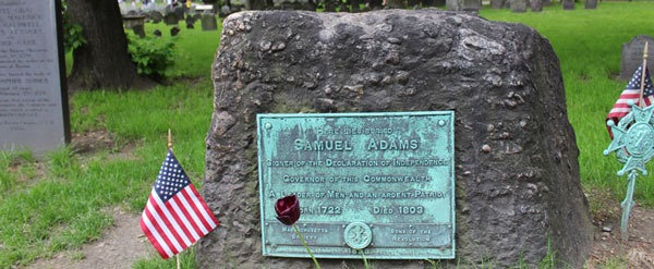 Sam Adams and Boston Massacre Grave Sites