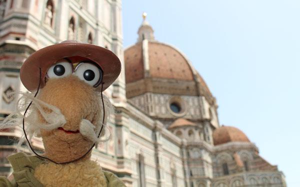 Uncle Traveling Matt at the Duomo